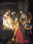 The Adoration of the Magi Fine Art Print by Bernardino Luini