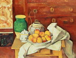 Still Life with a Chest of Drawers, 1883-87 (oil on canvas)