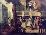 Street Fair Fine Art Print by William Hogarth