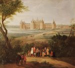 The Chateau de Chambord, 1722 Fine Art Print by German School