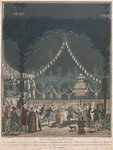 The Bastille Ball Fine Art Print by Fortune Louis Meaulle
