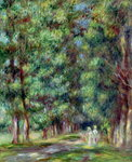 Path in a Wood, 1910 Fine Art Print by Camille Pissarro
