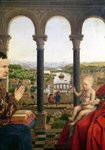 The Rolin Madonna Fine Art Print by Jan van Eyck