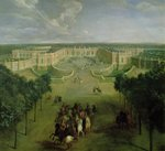 View of the Grand Trianon, 1722 (oil on canvas) Wall Art & Canvas Prints by Peter Nicholls