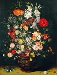 Vase of Flowers Fine Art Print by Jan Brueghel