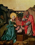 Nativity, 1510 (tempera on panel) Wall Art & Canvas Prints by Giotto di Bondone
