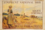 Poster for the Loan for National Defence from the Societe Generale, 1918 Fine Art Print by Kelly Hoppen