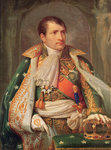 Napoleon I (1769-1821) King of Italy, c.1805-10 (oil on canvas) Postcards, Greetings Cards, Art Prints, Canvas, Framed Pictures, T-shirts & Wall Art by Benozzo di Lese di Sandro Gozzoli