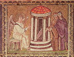 The Marys at the Tomb, Scenes from the Life of Christ (mosaic)