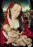 Virgin and Child, c.1467-70 (oil on panel) Postcards, Greetings Cards, Art Prints, Canvas, Framed Pictures, T-shirts & Wall Art by Gerard David
