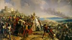 The Battle of Montgisard, 25th November 1177, c.1842 Fine Art Print by Charles Alexandre Debacq