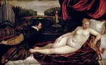 Venus and the Organist, c.1540-50 (oil on canvas) Fine Art Print by Peter Paul Rubens