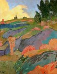 Breton Eve or, Melancholy, c.1890 Fine Art Print by Paul Serusier