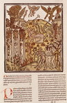 Hell, from 'La Cite de Dieu', 1486-87 Fine Art Print by Joseph Nash