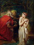 Susanna and the Elders, 1856 (oil on panel) Fine Art Print by Jacopo Robusti Tintoretto