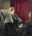 Isabella Heugh, 1872 (oil on canvas) Wall Art & Canvas Prints by Bertha Newcombe