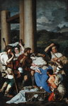 Adoration of the Shepherds (oil on canvas) Wall Art & Canvas Prints by Gerard David