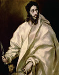 St. Bartholomew, 1606 (oil on canvas) Fine Art Print by El Greco