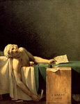 The Death of Marat, 1793 Fine Art Print by James E. Doyle