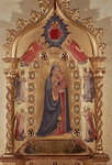Madonna of the Stars Fine Art Print by Giotto di Bondone