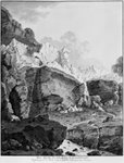 Glaciers of Grindelwald, engraved by Mathias Pfenninger (1739-1813) (engraving) (b/w photo) Postcards, Greetings Cards, Art Prints, Canvas, Framed Pictures, T-shirts & Wall Art by Anonymous