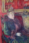 Madame de Gortzikoff, 1893 (oil on canvas) Wall Art & Canvas Prints by Vincent Van Gogh