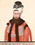 Sultan Selim III Fine Art Print by Thomas Couture