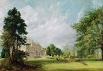 Malvern Hall, Warwickshire, 1821 (oil on canvas) Wall Art & Canvas Prints by English School