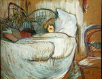 In Bed, 1894 (oil on card) Fine Art Print by Peter Paul Rubens