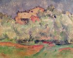 The House at Bellevue, 1888-92 Fine Art Print by Paul Cezanne