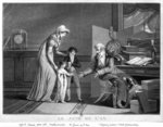 New Year's Day, 1807 (engraving) (b/w photo) Fine Art Print by William Henry Hunt