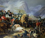 The Battle of Rivoli, 1844 Fine Art Print by Baron Louis Albert Bacler d'Albe