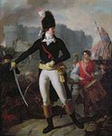 A Winner of the Bastille, 14th July 1789 (colour litho) Wall Art & Canvas Prints by Jean-Francois Janinet