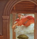 The Annunciation, c.1534-35 Poster Art Print by Master Bertram of Minden