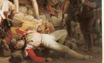 Fighting at the Hotel de Ville, 28th July 1830, 1833 (oil on canvas) (detail of 39427) Wall Art & Canvas Prints by Robert Alexander Hillingford