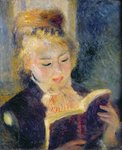 Girl Reading, 1874 Fine Art Print by Pierre-Auguste Renoir