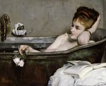 The Bath, c.1867 (oil on canvas) Wall Art & Canvas Prints by Claude Monet