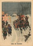 Christmas in Poland, illustration from 'Le Petit Journal', supplement illustre, 24th December 1911 (colour litho) Postcards, Greetings Cards, Art Prints, Canvas, Framed Pictures, T-shirts & Wall Art by Ernst Eisenmayer