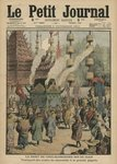 The Death of Chulalongkorn, King of Siam, illustration from 'Le Petit Journal', 6th November 1910 Fine Art Print by Indian School
