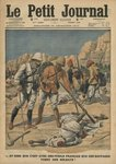 To think that those savages use French guns to kill our soldiers, illustration from 'Le Petit Journal', supplement illustre, 25th December 1910 (colour litho) Wall Art & Canvas Prints by P.H.G.V. Michel