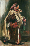 Elderly Moroccan Jew, 1867 (oil on canvas) Postcards, Greetings Cards, Art Prints, Canvas, Framed Pictures, T-shirts & Wall Art by French School