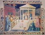 The Presentation of the Blessed Virgin Mary in the Temple, 1433-34 (fresco) Wall Art & Canvas Prints by Giotto di Bondone