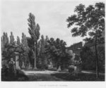 Garden of the cloister, Musee des Monuments Francais, Paris, illustration from 'Vues pittoresques et perspectives des salles du Musee des Monuments Francais et des principaux ouvrages...', engraved by Jean Baptiste Baptiste Reville (1767-1825) and Lavalee, 1816 (etching) Postcards, Greetings Cards, Art Prints, Canvas, Framed Pictures, T-shirts & Wall Art by Jean Francois Gigoux