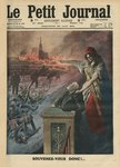Disarmament of France, Jean Jaures and Marianne, illustration from 'Le Petit Journal', 6th December 1903 (colour litho) Wall Art & Canvas Prints by Samuel Wale