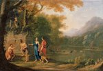The Arcadian Shepherds Fine Art Print by Thomas Gainsborough