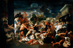 The Massacre of the Innocents (oil on canvas) Wall Art & Canvas Prints by Raphael