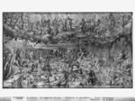 Life of Christ, Last Judgement, preparatory study of tapestry cartoon for the Church Saint-Merri in Paris, c.1585-90 (pierre noire & wash & white highlights on paper) Wall Art & Canvas Prints by Gustave Dore