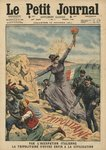 Italy providing civilization to Tripolitania, illustration from 'Le Petit Journal', supplement illustre, 15th October 1911 (colour litho) Postcards, Greetings Cards, Art Prints, Canvas, Framed Pictures, T-shirts & Wall Art by French School