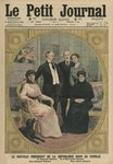 The new President of the French Republic, Raymond Poincare, with his family, front cover illustration from 'Le Petit Journal', supplement illustre, 2nd February 1913 (colour litho) Postcards, Greetings Cards, Art Prints, Canvas, Framed Pictures & Wall Art by Mary Stuart