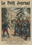 Honour to Joan of Arc, a regiment saluting the birthplace of the heroine at Domremy, front cover illustration from 'Le Petit Journal', supplement illustre, 18th May 1913 (colour litho) Wall Art & Canvas Prints by Jean-Louis Ernest Meissonier
